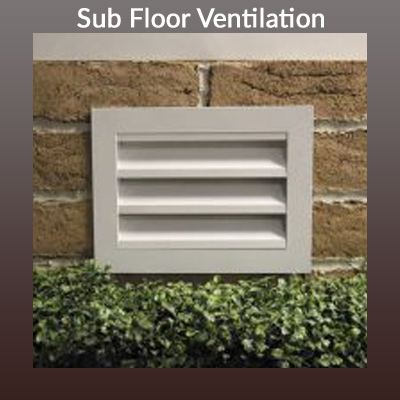 How do you insulate under a suspended wood floor